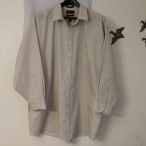 057 Men's Stafford Long Sleeve Shirt 20 34/35